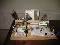 Another fly tying bench or desk.