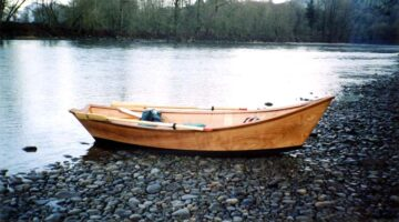 Wooden Drift Boat Plans from Butler Projects