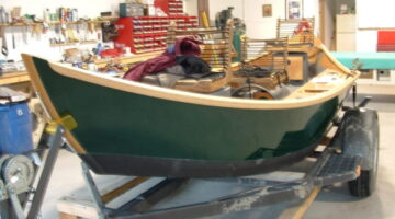 Building A Wooden Drift Boat — Stopping by Montana Boatbuilders