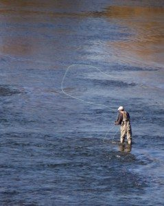 wet-fly-fishing-downstream-by-Robert-Couse-Baker
