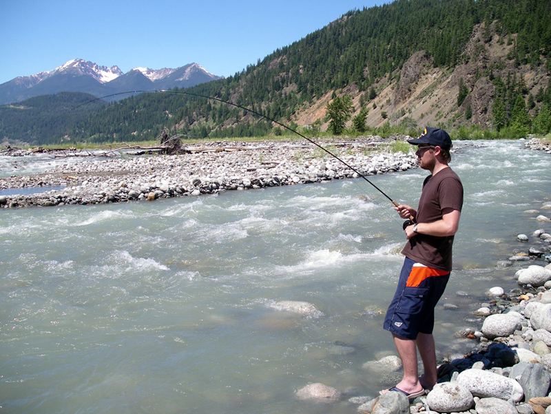 Best fly fishing rivers in british columbia the fly for Best trout fishing in the us