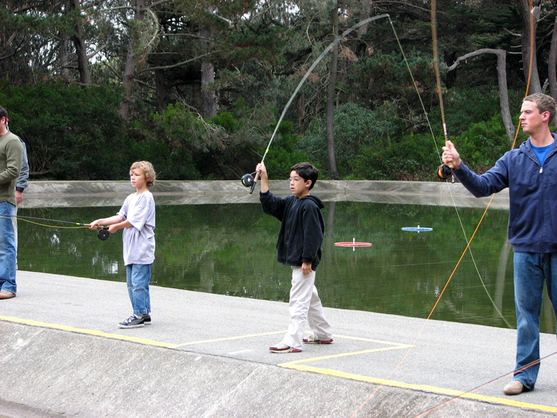 How to get kids hooked on fly fishing the fly fishing guide for Learning to fly fish