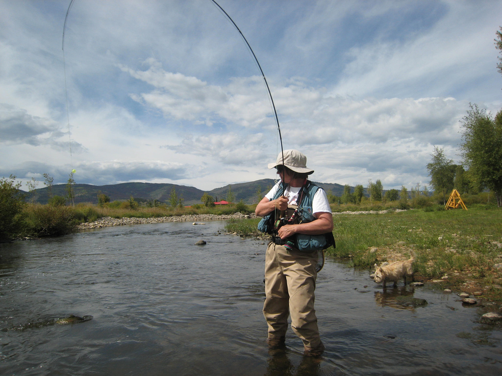 trout stream fishing tips - how to fly fish in small creeks, Fly Fishing Bait